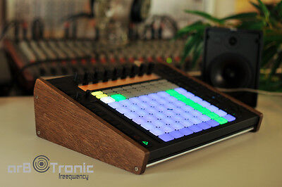 Ableton Push 1 Echtholz Seitenteil Wooden Side Panel Stand End Cheeks