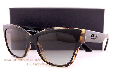 Brand New Prada Sunglasses PR 23XS 389 0A7 Black Havana/Grey Gradient For Women