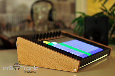 Ableton Push 1 Echtholz Seitenteil Wooden Side Panel Desktop Stand End Cheeks...