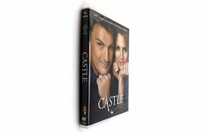 Castle The Complete Eighth Season 8 (DVD, 2016, 5-Disc Set)