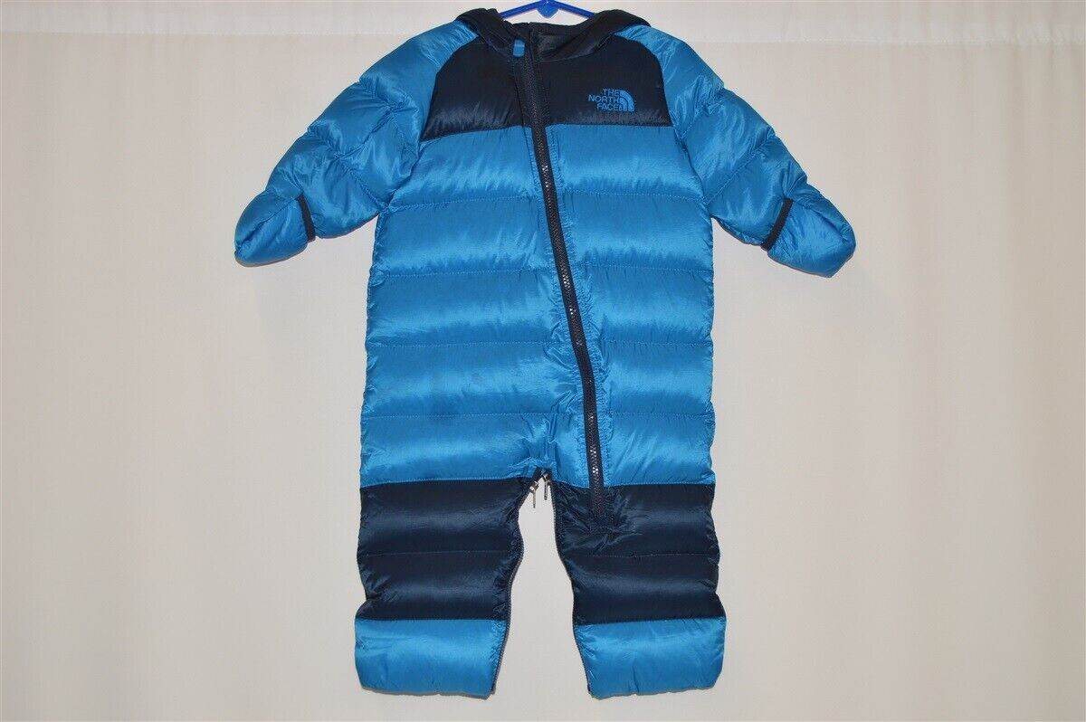 f392914df Details about THE NORTH FACE LIL' SNUGGLER DOWN BUNTING SKI SNOWSUIT BABY 6-12  MONTHS