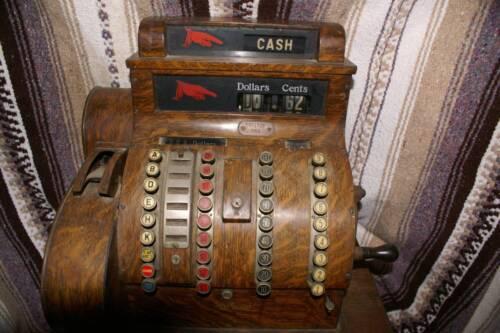 Antique National Cash Register 1922 Size 842 Rare/Original Vintage
