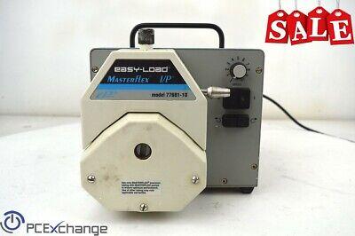 Cole Parmer Masterflex Peristaltic Pump Bdc Drive Easy Load 77410-00 77601-10