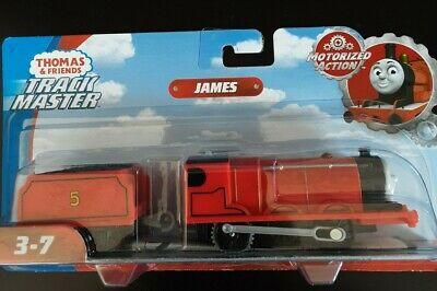 Thomas & Friends TrackMaster Motorized James the Train Engine Fisher-Price NIP