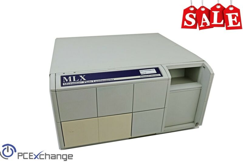 Dynex Technologies MLX Microtiter Plate Luminometer Lab Luminescence Analysis