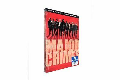 Major Crimes: The Complete Fifth Season 5 (DVD, 2017, 5-Disc Set) 2017 NEW