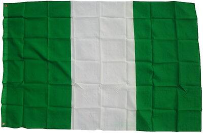 Bandiera Nigeria 90 x 150 cm sollevamento tempesta WM