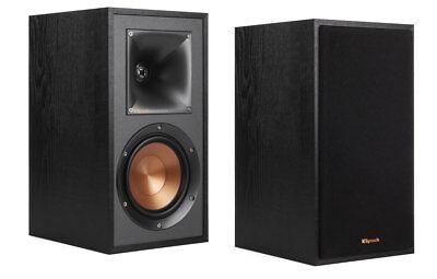 KLIPSCH Reference R-51M schwarz Kompakt-Lautsprecher-Paar Neu vom Fachhändler