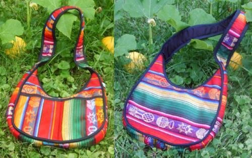 Ethnic Purse Handbag Ecuador NEW  Boho Colorful Gypsy