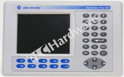 Allen Bradley 2711p-b6c20a D Panelview Plus 600 Color Keypadtouch