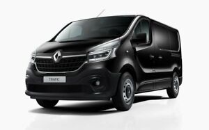 2020 Renault Trafic X82 MY20 Pro Low Roof SWB 85kW Black 6 Speed Manual Van Bentleigh Glen Eira Area Preview