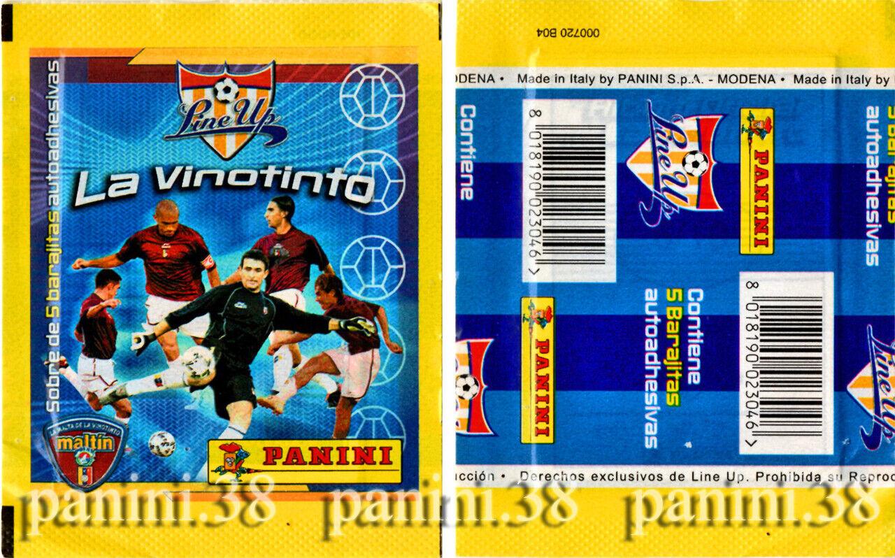 "Ultra rare !! pochette ""la vinotinto 2003"" bustina, tüte, packet panini"