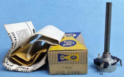 Vintage Cts Irc Qvc-539x 1.0 Mega Ohms Potentiometer Nosnib