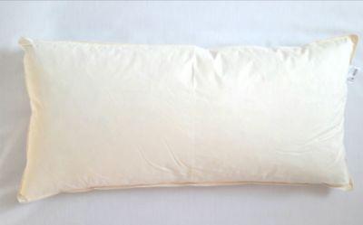 Kopfkissen Feder Kissenfüllung Inlett 30 x 60 cm 2er Set