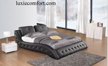 BRAND NEW 7 PIECES LUXURY COW LEATHER MILANO BEDROOM PACKAGE Hoppers Crossing Wyndham Area Preview