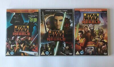Star Wars Rebels DVD Season 2, 3 and 4
