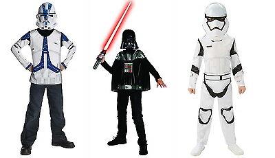STAR WARS Kostüm Darth Vader Stormtrooper Klonkrieger Clonetrooper Kinder - Krieger Kostüm Maske