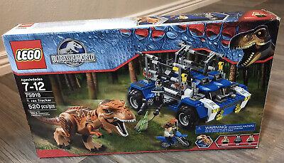 Lego 75918 Jurassic World T-rex tracker Tyrannosaurus Dinosaur Dino NIB Sealed