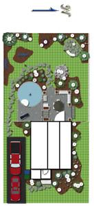 Conception de plan d'aménagement paysager extérieur 438 929-8258