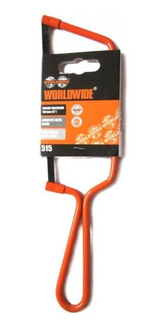 "Worldwide Junior Hacksaw 125mm (6"") Complete With Blade"
