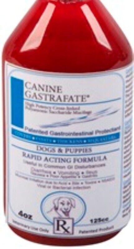 Vet Supply Gastrafate Dog Canine 4 oz Ulcers Diarrhea Intestinal Flare Up Vomit