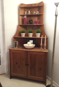 New Price - Pine Display Cabinet - Corner Unit - TV Stand