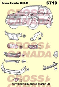 Forester Brand New Replacement Body Panels @ Brown's Auto