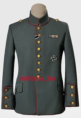 WW1 German Repro M1910 Royal Prussian Infantry Field Gray Tunic All Sizes
