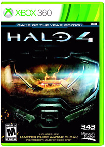 Halo 4 game of the years