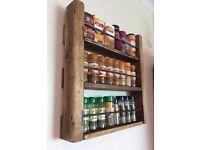 New 3 Shelf Spice Rack