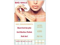 Nail technician BS1 City Center, Nail Enhancements