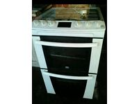 Zanussi cooker glass top gas