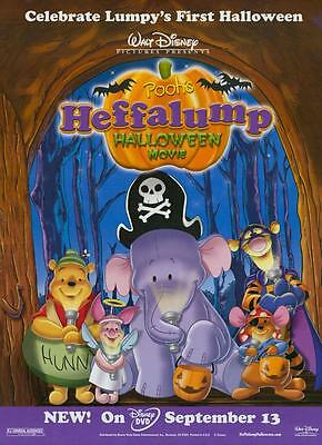 POOH'S HEFFALUMP HALLOWEEN MOVIE Movie POSTER 11x17 Kyle Stanger Nikita Hopkins