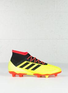 80e41fe3624f7f Adidas Predatore 18.2 Uomo FG Scarpe da Calcio UK 8.5 US 9 EUR 42.2 ...