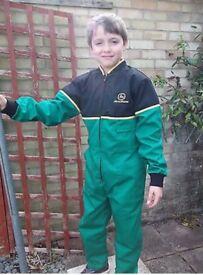 Age 8-10 john deere boiler suit overalls