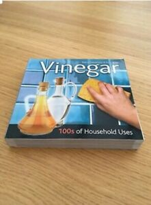 Book - Vinegar 100s of Household Uses - Brand New