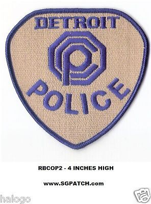 Robocop OCP Logo Patch Detroit Police Omni Consumer Products Embroidered