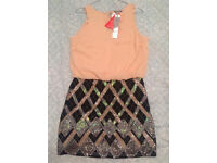 Brand New With Tags Lipsy Dress Size 12 Rrp £149.99 Ideal For Christmas Night Out
