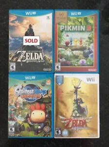 Wii U Games - See Prices Below