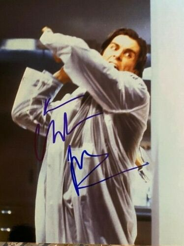 Christian Bale signed autographed 8x10 photo American Psycho