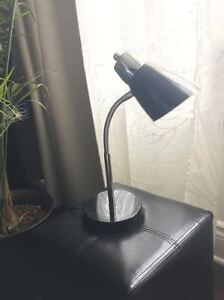 Black (Bendable) Desk Lamp / Light