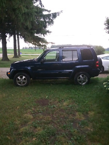 2003 Jeep Liberty limited edition