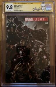 Marvel Legacy 1. Signed by Stan Lee Cgc 9.8