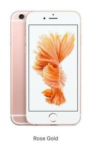 MINT IN THE BOX IPHONE 6S 64GB BLACK UNLOCKED + 3 MONTHS OF WARRANTY $299