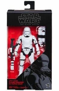 Save 40% Star Wars Black Hasbro 6 Inch FirstOrder Flametrooper