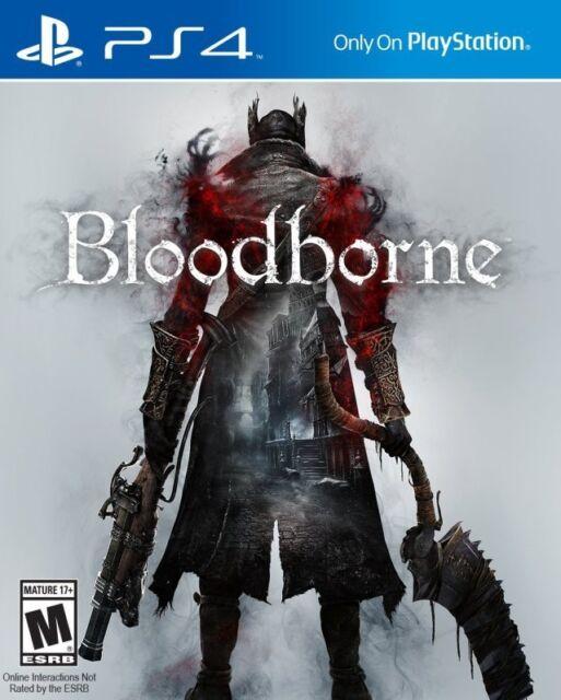 Bloodborne PS4 Game Brand New Sealed