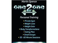 Personal Training Private Gym Co Down