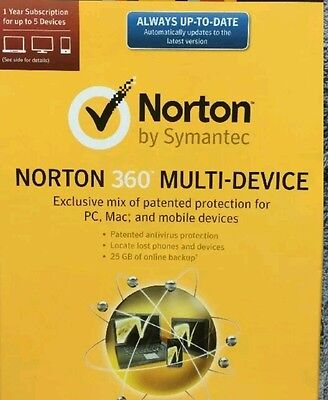 Activation Code For Norton 360 Multi Device 1Yr 5 Devices Internet Security