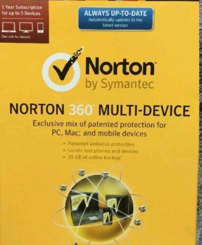 Symantec Activation Code For Norton 360 Multi-device 1yr/...