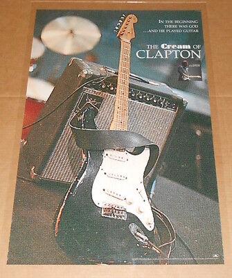 The Cream of Eric Clapton Original Promo 1995 Poster 24x36